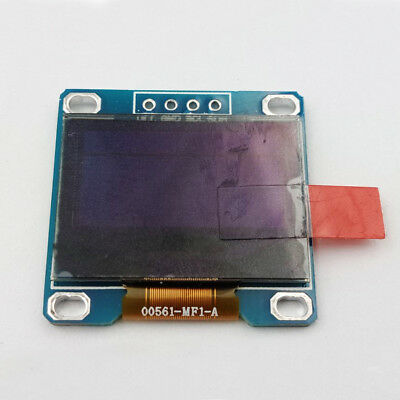 "0.96"" 128X64 I2C IIC OLED LCD LED Display Module Mini For Arduino Blue&Yellow"