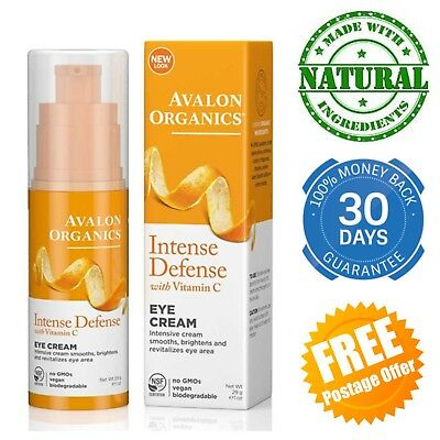 Revitalising Eye Cream Avalon Organics Under Dark Circles Anti-age Wrinkles