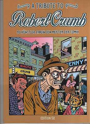 A Tribute to Robert Crumb COMIC ALBUM 100 Seiten wie neu Gilbert Shelton WITTEK