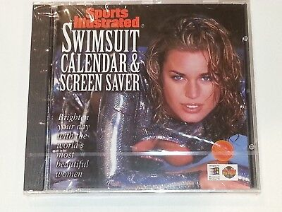 Sports Illustrated Swimsuit Calendar And Screen Saver CD ROM Brand New Rare