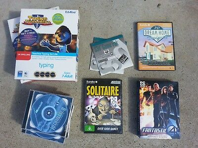 PC Software Assorted Titles Genuine Brand New Educational Games Muppet Sims