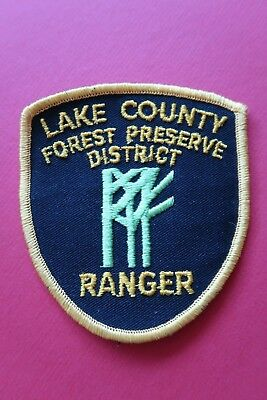 New / Unused - Lake Co Forest Preserve District Ranger, Illinois - Police Patch