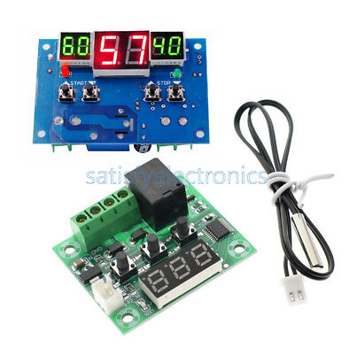 W1209/W1401 DC 12V Red LED Digital Thermostat Temperature Controller -9-110°C