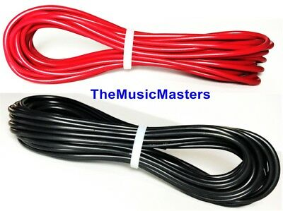 16 Gauge 10' ft each Red Black Auto PRIMARY WIRE 12V Auto Wiring Car Power Cable