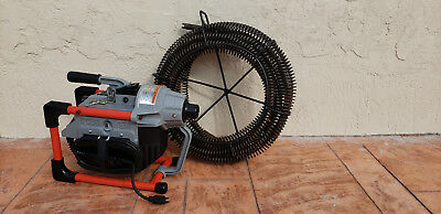 Ridgid K-60 Sectional Machine Drain Cleaner with 75Ft Snake