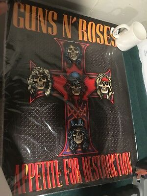 GUNS N ROSES CROSS REDUX LITHOGRAPH Canada PopUp store Exclusive numbered Poster
