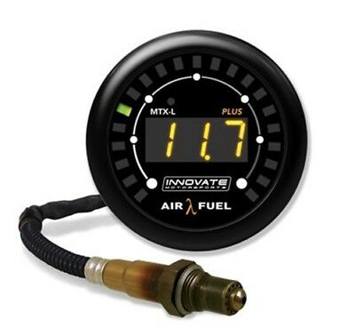 Innovate Motorsports MTX-L PLUS: Digital Air/Fuel Ratio Gauge Kit (8 Ft. Cable)