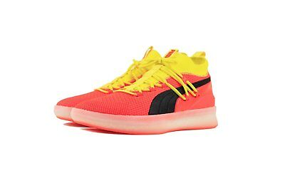 best service ab87a 928ae PUMA CLYDE COURT Disrupt Men's Basketball Shoes 191715-02 red blast