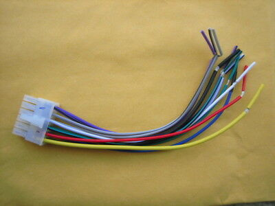dual wire harness xdma350,am400w,mcd135bt, mxdm51 12pin marine stereo