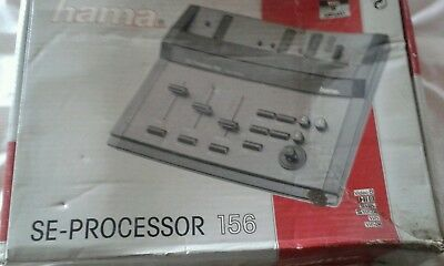 Hama se processeor 156 vintage video editing hardware-boxed