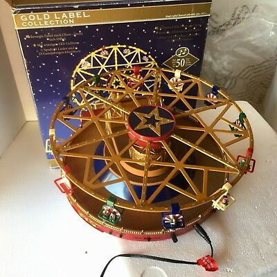 Gold Label Collection World's Fair Frenzy Ride NOT Working AS IS Parts / Repair