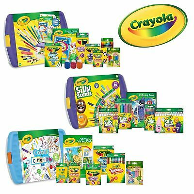 Crayola Super Colouring Tub - Huge bundle pack of colouring products