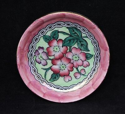 Maling Ware Newcastle On Tyne Lustre Butter Pat - Circa 1920-1963