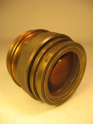 Antique Brass Camera Lens - 3.5 lb. (AS IS)