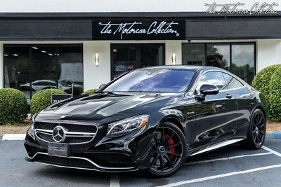 2015 Mercedes-Benz S-Class  $176,425 MSRP Only 3K Miles 2015 Mercedes-Benz S63 AMG Clean CarFax Certified