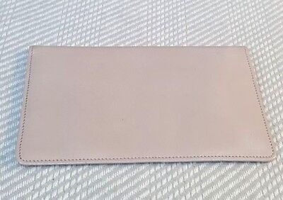 Vintage 1950's grey goat skin leather full size wallet
