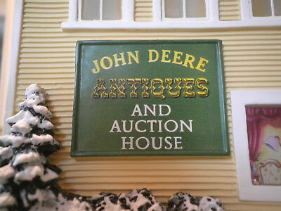 Hawthorne Village John Deere Creek Village Collection Antiques & Auction House W