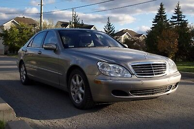 2005 Mercedes-Benz S-Class S430 4 MATIC Almost new 2005 MERCEDES BENZ S430 4 MATIC with 35200 km (21872 miles) only!
