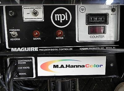Maguire Products Inc / HannaColor. MDA-E-8-50 Extrusion Drum Pump Used