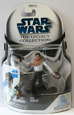 Star Wars Legacy Collection: Han Solo + Build-a-Droid #1 MOC