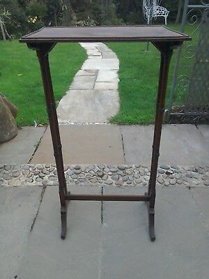 Antique Edwardian very small occasional table