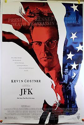 JFK 1991 Original Movie Poster 27x40 Rolled, Double-Sided