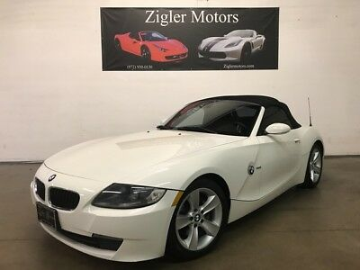 2007 BMW Z4 3.0i Convertible White on Red interior Clean Carfa 2007 BMW Z4 73,965 Miles