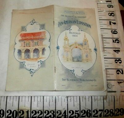 1901 Pan American Exposition Butterick Exhibit Souvenir Booklet
