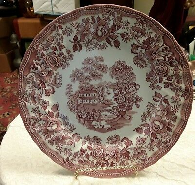 "Tonquin by Myott - Royal Staffordshire Dinner Plate 10""- 1982 Series"