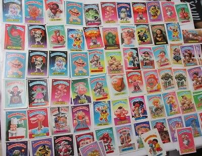 1985 Topps Garbage Pail Kids 98 cards total 66 different Vintage Sticker cards
