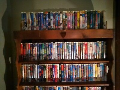 Huge Lot Of VHS Movies. Pick 5 for $7.00! Or Make me an offer for all of them!!!