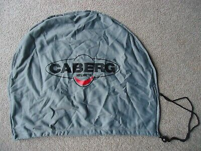 Caberg Motorcycle Drawstring Helmet Bag Dust Cover Gray