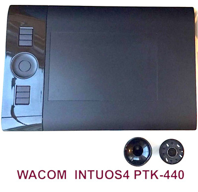 Keyboards, Mice & Pointers Helpful Wacom Intuos4 Drawing Tablet Ptk-440 Small No Pen No Cable