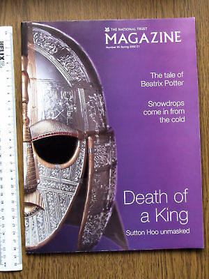 The National Trust Magazine Spring 2002 Snowdrops, Sutton Hoo, Gargoyles Etc