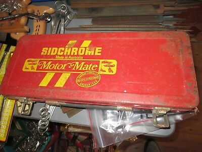 Vintage Toolbox 353-5 Motor Mate, Used In Good Condition.no Dints.