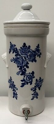 Antique Victorian Ceramic Water Filter 60cm in Height