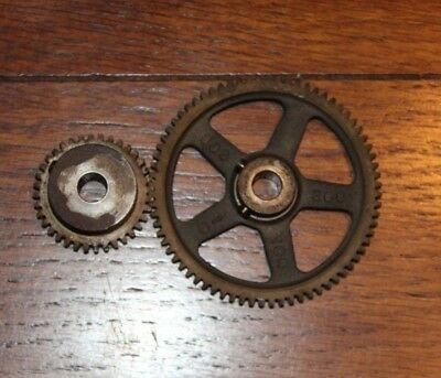"Boston Spur Gear H2436 & 268 Matching Set - 3/8"" Id"