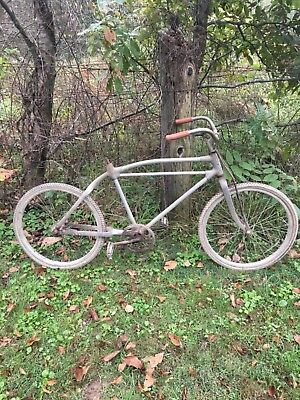 Monark Silver King antique bicycle aluminum frame 24""