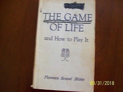 The Game of Life and How to Play It-Florence Scovel Shinn Vintage 1941-Softcover