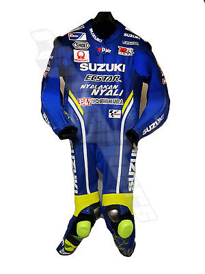 New Suzuki Ecstar Motogp 2018 Motorcycle Motorbike Leather Racing Suit All Colo