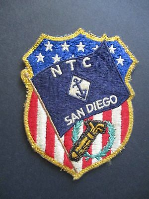 Vintage U.s. Us Navy Naval Training Center (Ntc) San Diego Jacket Patch
