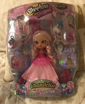 Shopkins Shoppies Special Edition Chandelia Doll 100% Authentic
