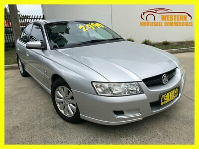 2005 Holden Commodore VZ Acclaim Sedan 4dr Auto 4sp 3.6i Silver Automatic A