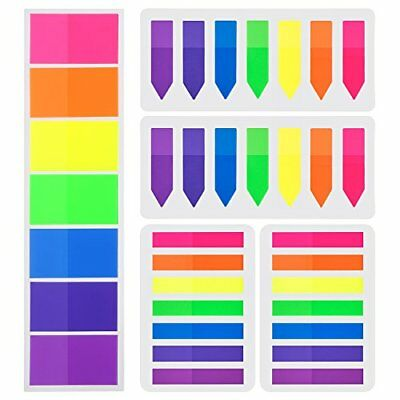 700 Pieces Flags Index Tabs 3 Sizes Sticky Notes Writable Labels Page Marker Boo