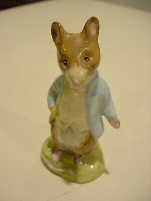 BESWICK ENGLAND. Beatrix Potter  JOHNNY TOWN-MOUSE  Figure F. Warne Co. England