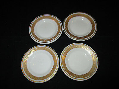 VINTAGE SET OF 4 Scammell Butter Pat Dishes