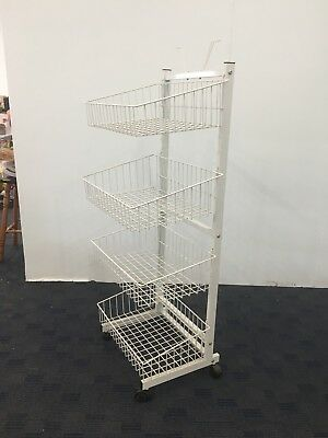 Wire Rack On Wheels