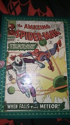 Amazing Spider-Man #36 Silver Age Marvel Comics