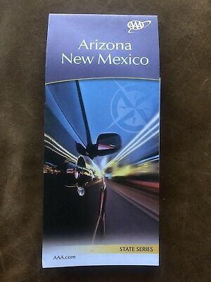 AAA ARIZONA & NEW MEXICO State Series Travel ROAD MAP 2017-2019