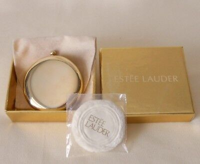 NWOT ESTEE LAUDER AFTER HOURS GOLDEN COMPACT Translucent_Stop Watch Model_Small